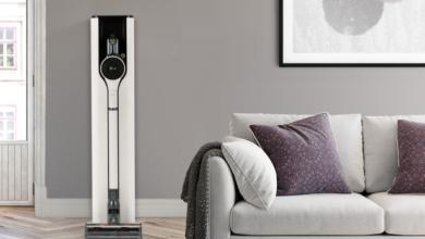 LG تطلق مكنستها الكهربائية الذكية الجديدة بميزة تفريغ الأتربة التلقائي  #CES2021