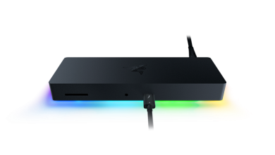 Razer تكشف عن Thunderbolt 4 Dock Chroma بإضاءة RGB وسعر 330 دولار