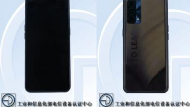 منصة TENAA تكشف عن شكل هاتف Realme RMX3142 ومواصفاته الرئيسية