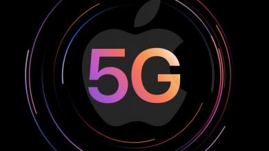 ابل تخطط للتحول إلى شرائح مودم 5G مطورة من الشركة في 2023
