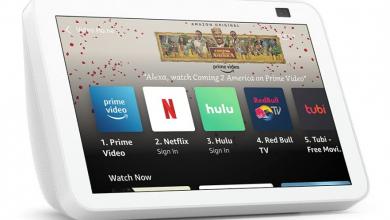 Amazon تطلق التحديثات الجديدة لأجهزة Echo Show 8 و Echo Show 5
