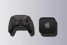 ابل تعمل على تطوير وحدة تحكم هجينة للألعاب بتصميم محمول وكرت شاشة محسن