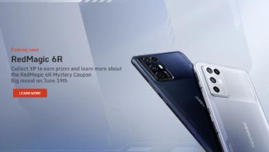 مؤكد: إطلاق الإصدار العالمي من هاتف RedMagic 6R