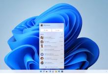مايكروسوفت تدمج Microsoft Teams ضمن شريط مهام Windows 11
