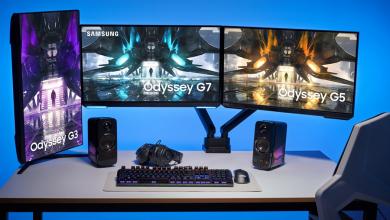 سامسونج تكشف عن شاشات Odyssey للعام 2021 بتصميم مسطح