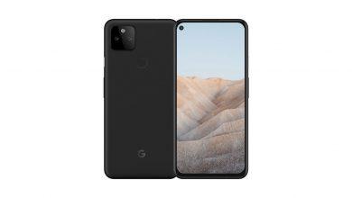 هاتف Google Pixel 5a يحصل على ترخيص FCC