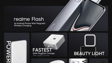 Realme تطلق تقنية الشحن المغناطيسي MagDart بقدرة 15W و50W