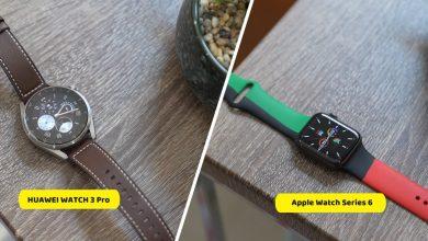 تحدي ما بين HUAWEI WATCH 3 Pro ضد Apple Watch Series 6