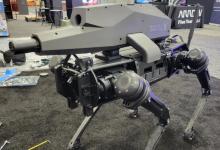 شركة Ghost Robotics تكشف عن روبوت مجهز بسلاح مخصص