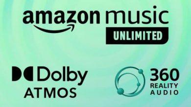 خدمة Amazon Music تضيف دعم Spatial Audio للمزيد من الأجهزة