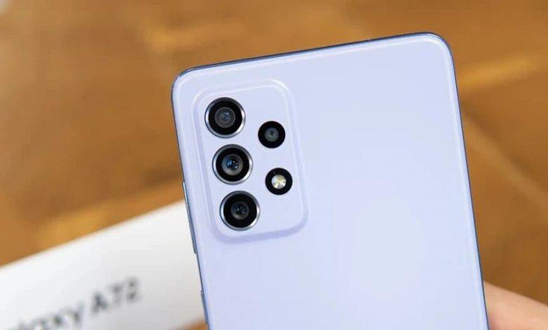 هاتف Galaxy A73 قد يأتي بشاشة OLED صينية